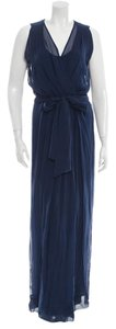Navy Maxi Dress by Diane von Furstenberg Dvf New With Tags