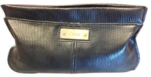Chloé Chloe Cosmetics Clutch Pochette Pouch Lizard Embossed Purse