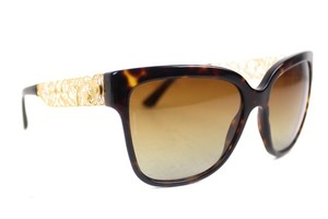 Dolce&Gabbana Tortoise Filigree Polarized Sunglasses New DG4212