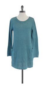 A.P.C. short dress Blue Linen Sweater on Tradesy