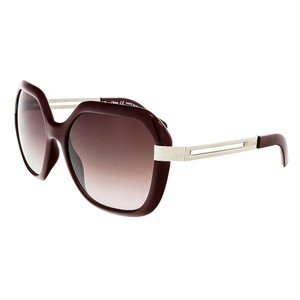 Chloé Chloe Bordeaux Oversized Square sunglasses