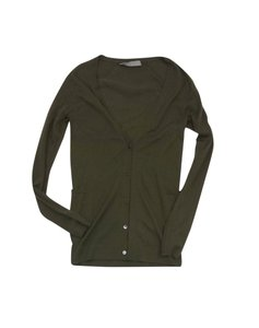 Jason Wu Green Cashmere Cardigan