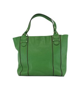 Kate Spade Green Pebbled Leather Tote