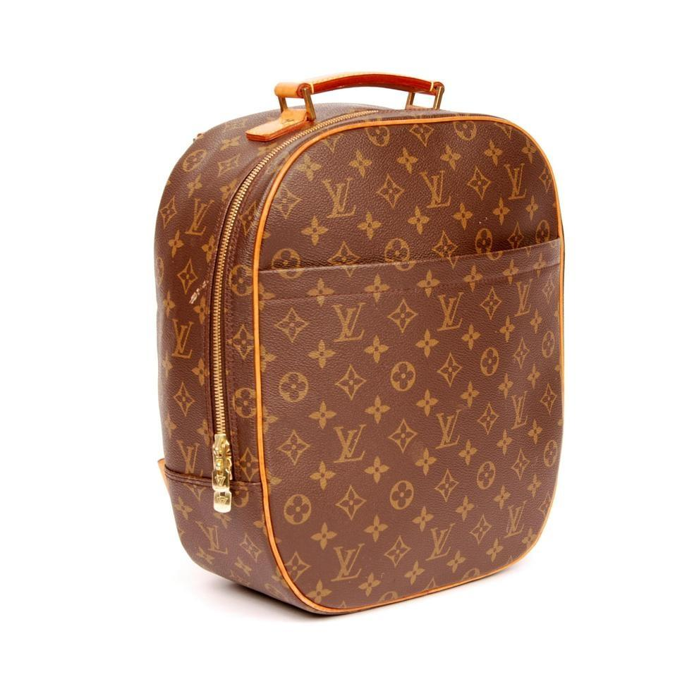 b91eec0f01ef Louis Vuitton Sac A Dos Packall 3608 Brown Monogram Canvas Backpack ...