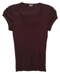 Splendid T Shirt Brown