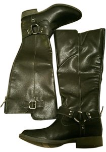 Dr. Scholl's Nwob Synthetic Leather Black Boots