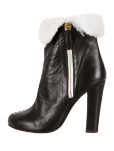 Giuseppe Zanotti Bootie Boot Shearling Winter Black Boots