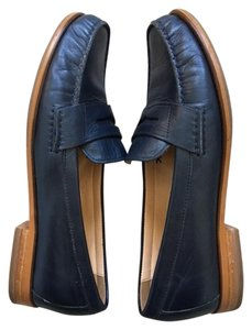 Cole Haan Leather Classic Blue Flats