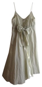 Diane von Furstenberg short dress Light Green on Tradesy