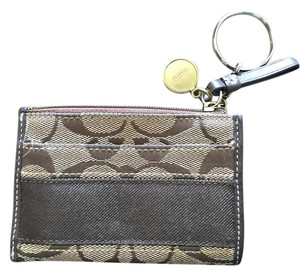 Coach Coach Designed Mini ID Wallet
