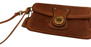 Coach Wristlet in Whiskey