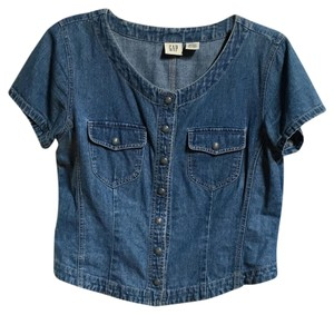 Gap Vintage Waist Length Top Denim