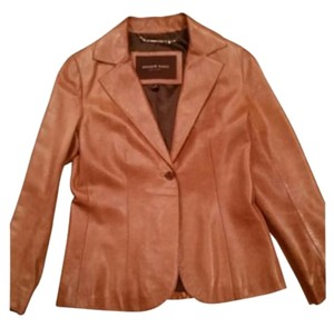 Andrew Marc Camel/Tan Leather Jacket
