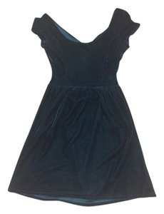 Urban Outfitters Holiday Velvet Bow Dress