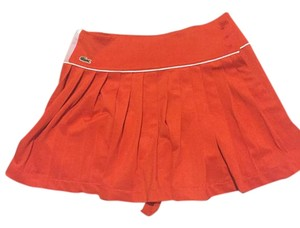 Lacoste Tennis Mini Skirt Bright orange