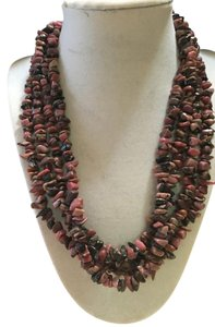 Anna's Art Rhodochrosite Necklace