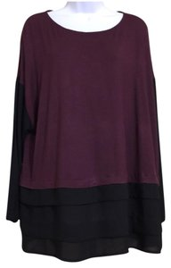 Apt. 9 Top Purple & Black
