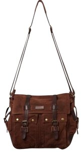 Bed|Stü Messenger Free People Distressed Brown Messenger Bag