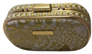 Lilly Pulitzer for Target Gold Clutch