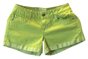 Express Cuffed Shorts Green
