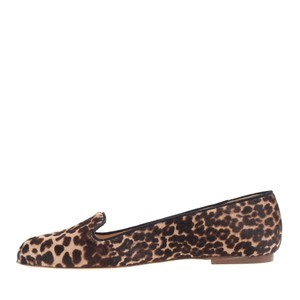 J.Crew Collection- Sophia Loafer in Sienna Black Cat Flats