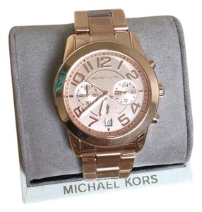 Michael Kors $275 NWT Michael Kors Rose Gold-Tone Mercer Watch MK5727