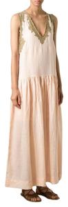 Pink Multi Maxi Dress by Mes Demoiselles Free People Gauze Bohemian Lace Maxi