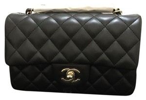 Chanel Mini Flap Lambskin Cross Body Bag