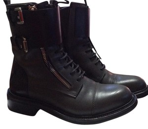 CoSTUME NATIONAL Black/Gray Boots