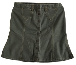 Abercrombie & Fitch Skirt Army Green