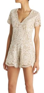 Alexis Lace Romper Bohemian Dress