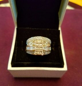 3 Ct. Emerald Cut Wedding Set Ring