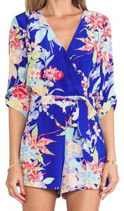 Yumi Kim Floral Printed Romper Dress