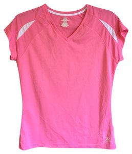 Russell Athletic Pink Workout Tee Striped