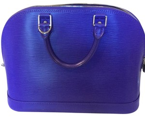 Louis Vuitton Satchel in Purple
