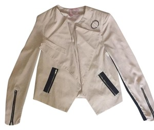 Romeo & Juliet Couture Taupe/black Blazer