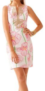 Lilly Pulitzer short dress Hotty Pink Shift Engagement on Tradesy
