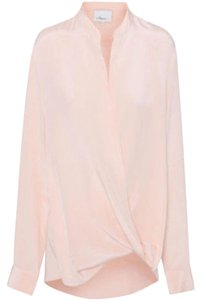 3.1 Phillip Lim Silk Luxury Top Peach