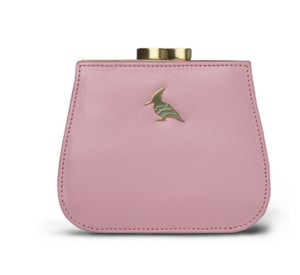 OneOddBird Canary Leather Coin Purse Wallet - Light Peony