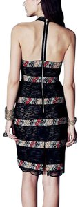 Free People Fp New Party Chic Bodycon Stretchy New Romantic Victorian Maxi Wedding Guest Dress