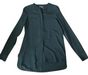 Vince Shirt Top Dark Teal