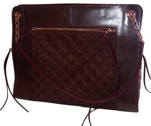MZ Wallace Satchel in Brown