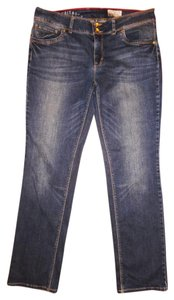 Tom Tailor Alexa Style Low-rise Stretch Straight Leg Jeans-Distressed