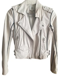IRO Off White Leather Jacket