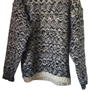 Isabel Marant Comfortable Checkered Two-tone Sweater