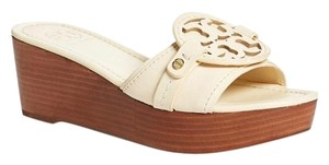 Tory Burch Vanilla Cream Wedges