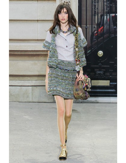Chanel Chanel Spring '15 Runway Multi-Colored Crystal Chain Link Choker