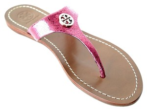 Tory Burch Metal Pink Sandals