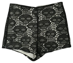 Gypsy Warrior Mini/Short Shorts Black, white