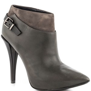 Kenneth Cole Bootie Suede Leather Gray Boots